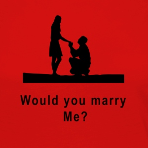 marriage proposal - Women's Premium Longsleeve Shirt