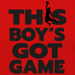 BASKETBALL drengs GOT GAME - Dame premium T-shirt med lange ærmer
