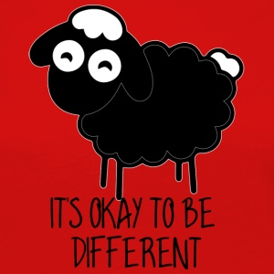 Schaf / Bauernhof: It´s Okay To Be Different - Frauen Premium Langarmshirt