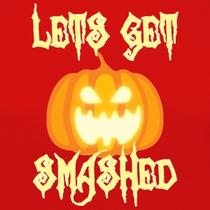Halloween: Let's Get Smashed - Women's Premium Longsleeve Shirt