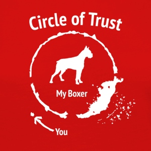 Funny Boxer Shirt - Circle of Trust - Women's Premium Longsleeve Shirt