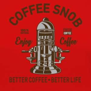 COFFEE SNOB - Women's Premium Longsleeve Shirt