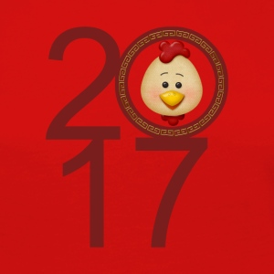 2017 Year of the Rooster - Women's Premium Longsleeve Shirt