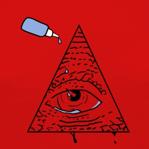 All Seeing Eye - Premium langermet T-skjorte for kvinner