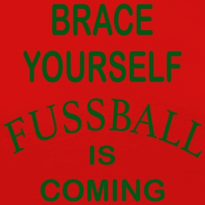Brace Yourself Football is Coming - Vert - T-shirt manches longues Premium Femme