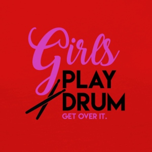 Drummer Girl - Drummer Passion - T-shirt manches longues Premium Femme