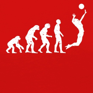 VOLLEYBOLL EVOLUTION! - Långärmad premium-T-shirt dam