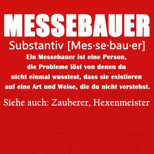 Messebauer Definition Shirt - Frauen Premium Langarmshirt