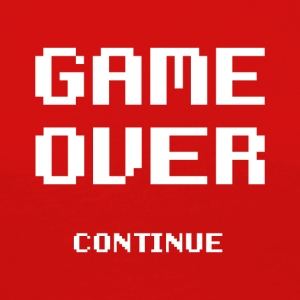 Game Over - T-shirt manches longues Premium Femme