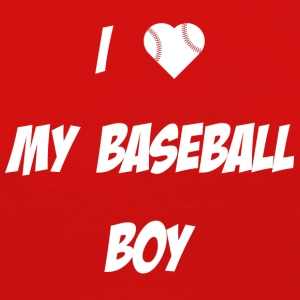I love my Baseball Boy - T-shirt manches longues Premium Femme