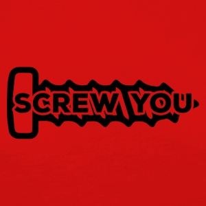 Mekaniker: Screw You - Dame premium T-shirt med lange ærmer