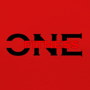 ONE FITNESS Logo (Without Globe) - Premium langermet T-skjorte for kvinner