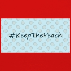Hashtag Keep The Peach - Maglietta Premium a manica lunga da donna