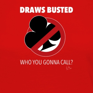 Draws Poker Busted T-Shirt - Women's Premium Longsleeve Shirt