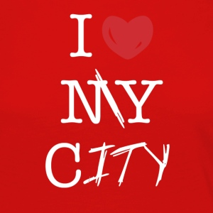 i love my city - Women's Premium Longsleeve Shirt