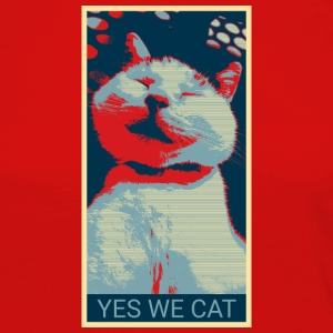 YES WE CAT - Frauen Premium Langarmshirt