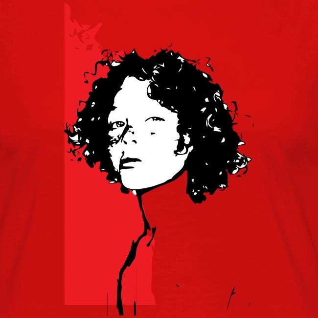 L'enfant rouge représente la terre rouge d'Afrique