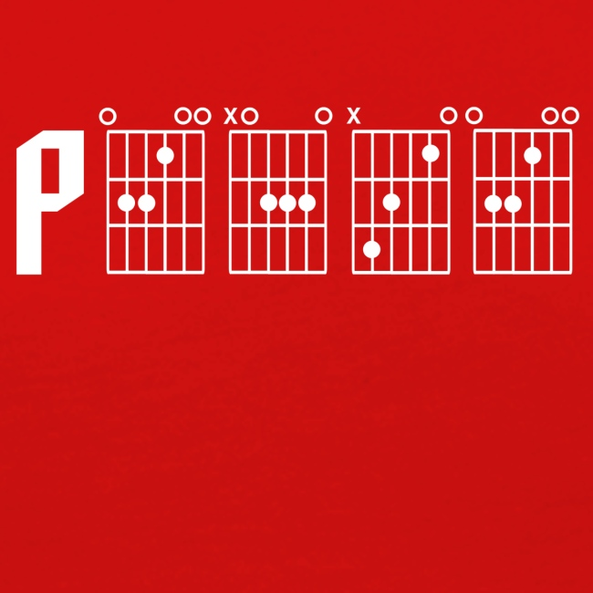 Peace through the power of a guitar chord