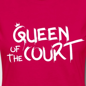 Queen of the court - Premium langermet T-skjorte for kvinner