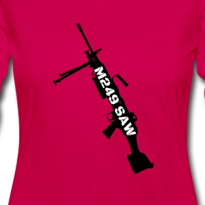 M249 SAW light machinegun design - Women's Premium Longsleeve Shirt