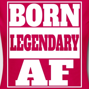 Born legendary af - Women's Premium Longsleeve Shirt