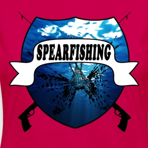 SPEARFISHING - Camiseta de manga larga premium mujer