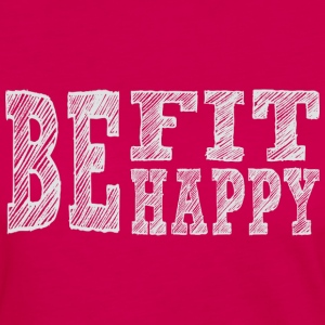 Be fit be happy - Frauen Premium Langarmshirt