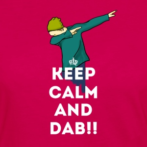 dab keep dabbing touchdown fun cool LOL football - Women's Premium Longsleeve Shirt