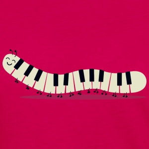 Caterpillar piano - Funny - Women's Premium Longsleeve Shirt