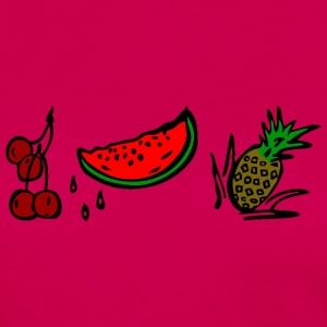 FRUITS - Frauen Premium Langarmshirt