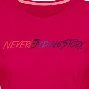 NeverEndingStory Shirt - Frauen Premium Langarmshirt