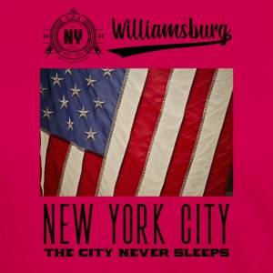 New York City · Williamsburg - T-shirt manches longues Premium Femme
