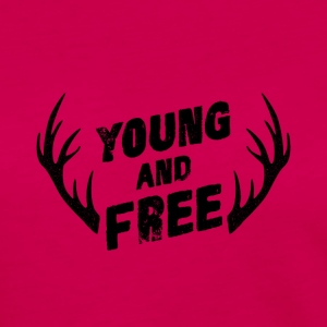 Young and Free - Långärmad premium-T-shirt dam