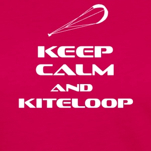 KITESURFING - KEEP CALM AND KITELOOP - Frauen Premium Langarmshirt