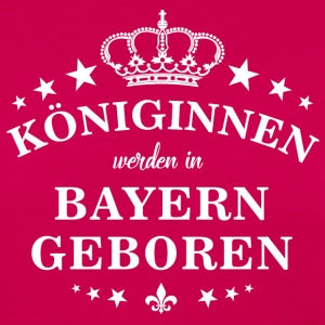 Queens are born in Bavaria - Women's Premium Longsleeve Shirt