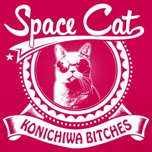 Space Cat - Frauen Premium Langarmshirt