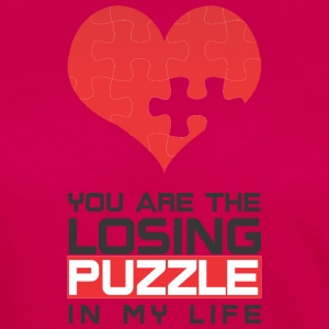You are the Losing PUZZLE in my LIFE - Frauen Premium Langarmshirt