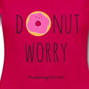 donut worry be happy - Women's Premium Longsleeve Shirt