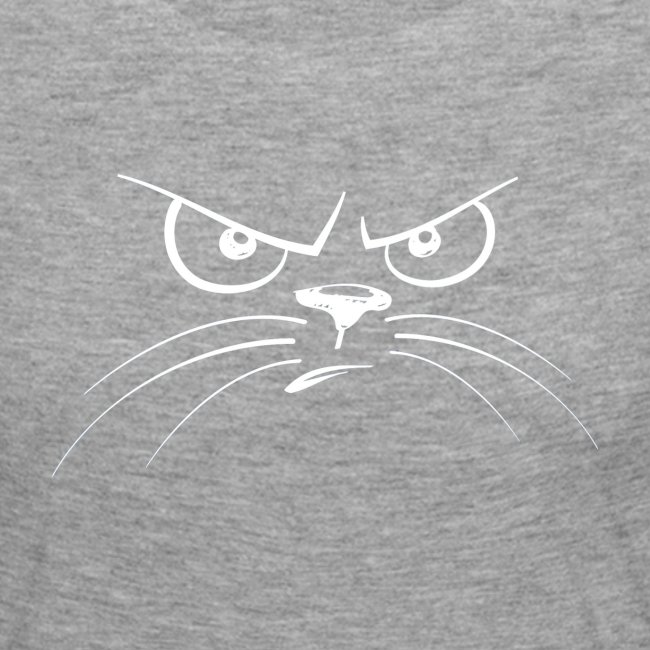 GATTO ARRABBIATO BIANCO - ANGRY CAT