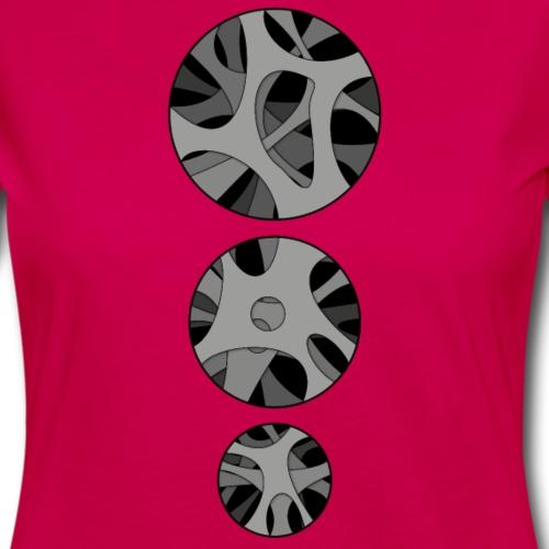RoundHollow - Dame premium T-shirt med lange ærmer