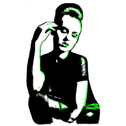 ATTITUDE (neon green)