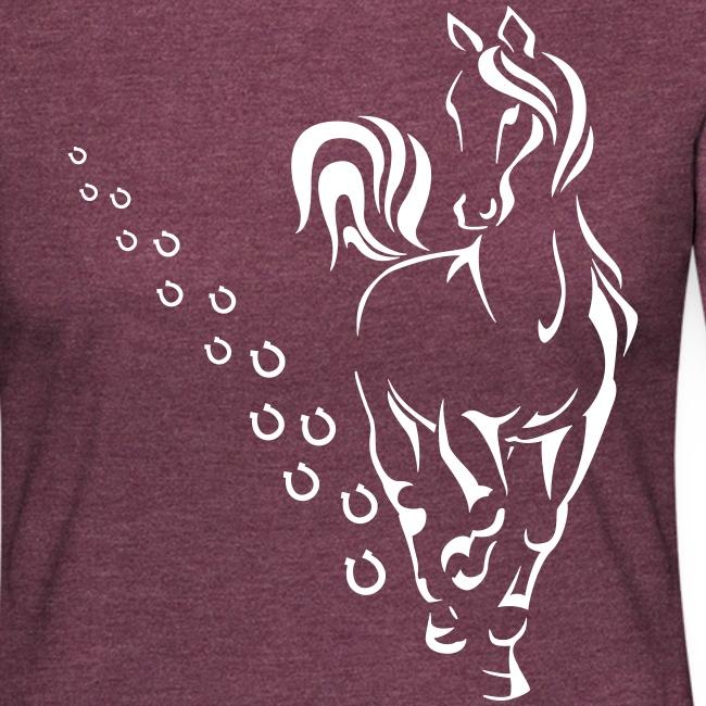 Vorschau: HORSEWALK - Frauen Premium Langarmshirt