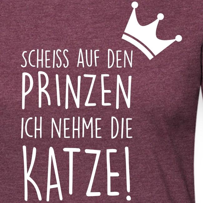 Vorschau: Scheiss auf den Prinzen - Frauen Premium Langarmshirt