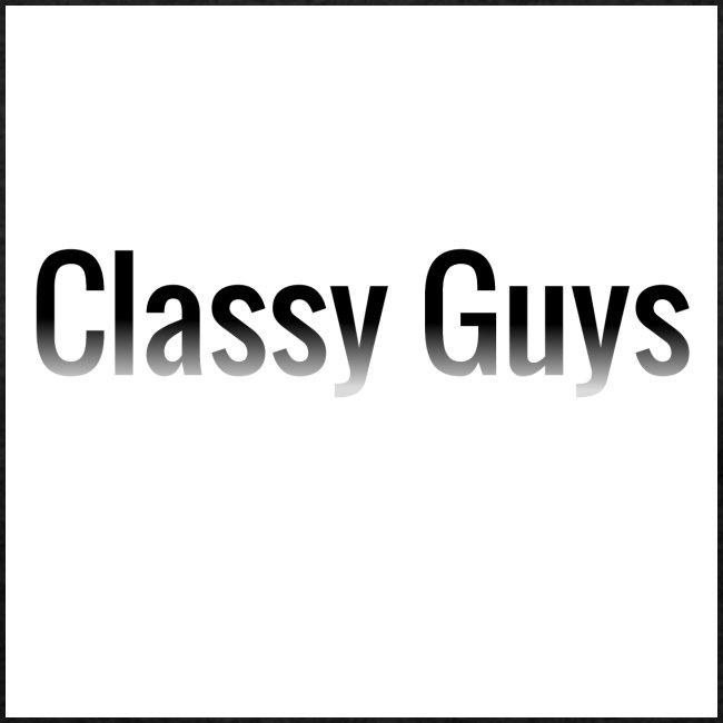 Classy Guys Simple Name