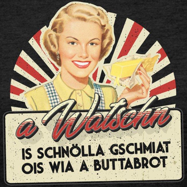 Vorschau: A Watschn is schnö gschmiat - Frauen Premium Langarmshirt