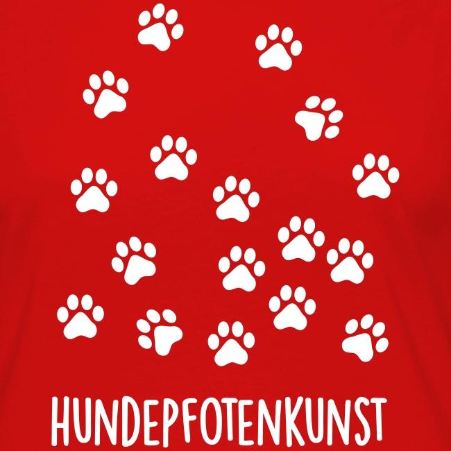 Vorschau: Hundepfotenkunst - Frauen Premium Langarmshirt