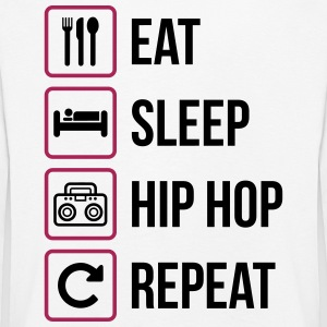 Eat Sleep Hip Hop Repeat - Kids' Premium Longsleeve Shirt