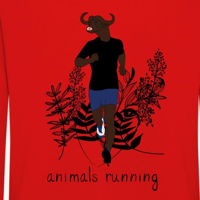 Buffle running