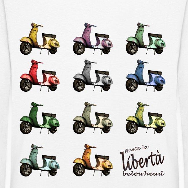 ♂ BIO-SHIRT: gusta la libertà