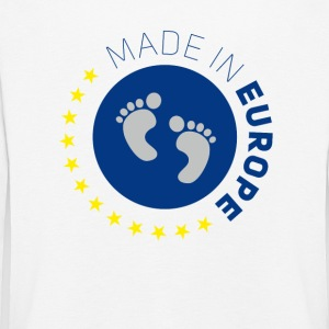 made in europe amour europe UE amour bébé lo - T-shirt manches longues Premium Enfant